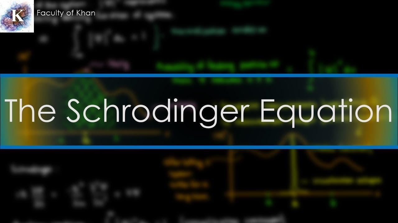 Introduction to Quantum Mechanics: Schrodinger Equation