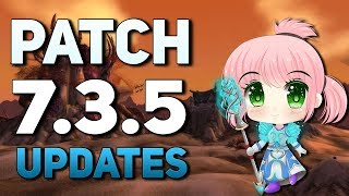 WoW Patch 7.3.5 | Zone Scaling, Ulduar Timewalking & New Battleground