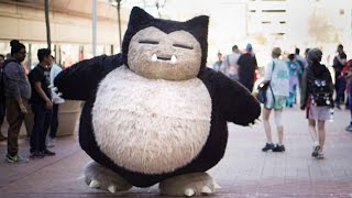 Snorlax at Magfest 2017