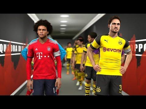 Borussia Dortmund vs Bayern Munich - Potential Lineup Season 2019/20