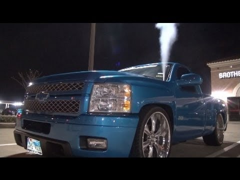 LSX SILVERADO SS on 24's! - YouTube