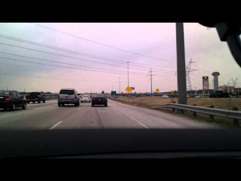 Driving Irving to Lewisville Texas