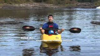 The 3 Golden Rules of Whitewater Kayaking