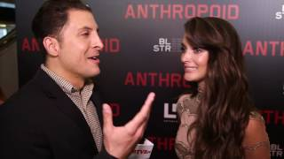 charlotte le bon at the anthropoid ny premiere behind the velvet rope with arthur kade