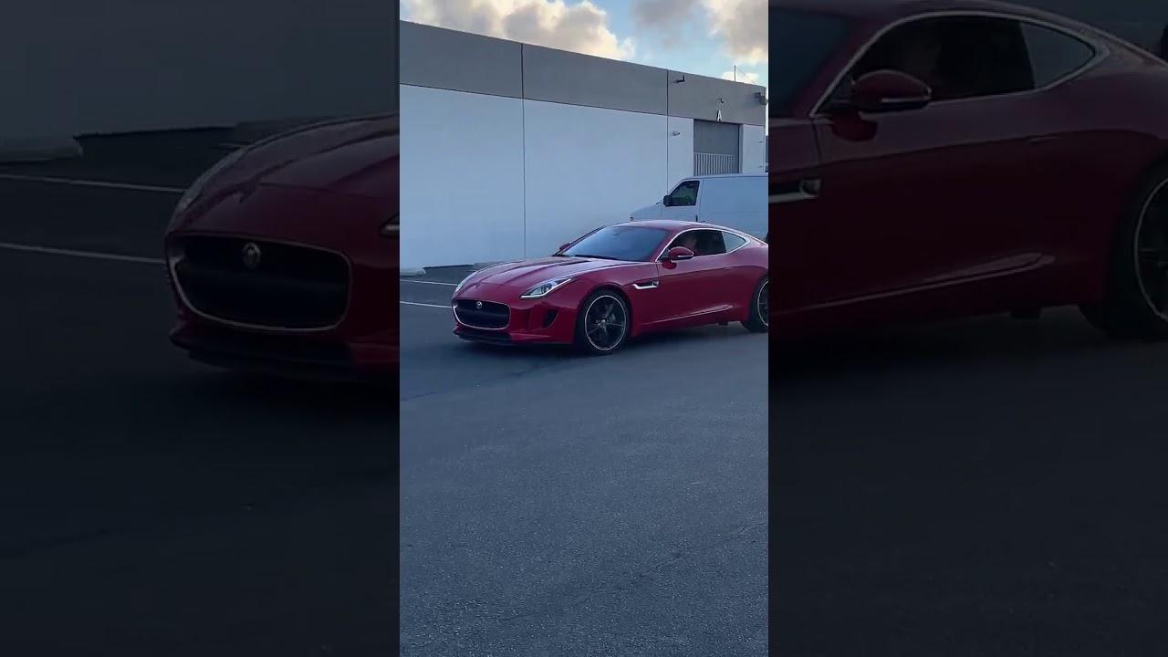 2017 Jaguar type F - YouTube