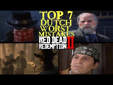Dutch worst Mistakes in Red Dead Redemption 2 thumbnail
