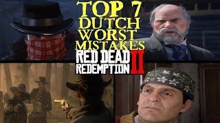 Dutch worst Mistakes in Red Dead Redemption 2