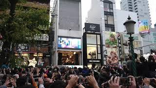 山本彩フリーライブ「追憶の光」 大阪アメリカ村  2019.11.24