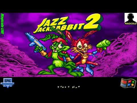 Jazz Jackrabbit 2 🔴 Live Stream Gaming 2018