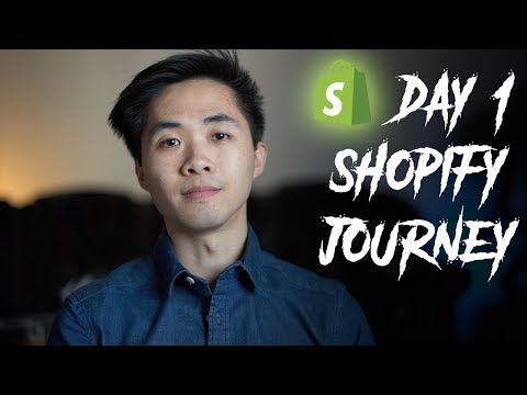 DAY 1: Shopify Journey Documented From The Beginning thumbnail