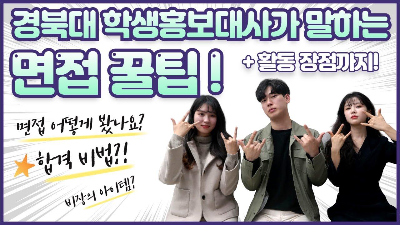 학교의 얼굴 ❤ 경북대학교 학생홍보대사 누이(KNU-I)❤ 활동의 장점, 홍보대사 면접 꿀팁! 2편