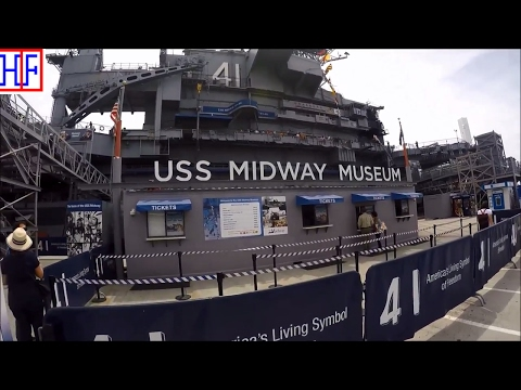 San Diego | USS Midway Museum | Tourist Attractions | Episode# 11