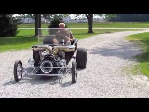 Jet / Turbine Powered Ford T-Bucket Car – AND ITS FOR SALE!