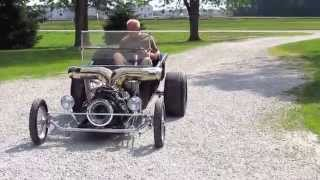 Jet / Turbine Powered Ford T-Bucket Car - AND ITS FOR SALE!
