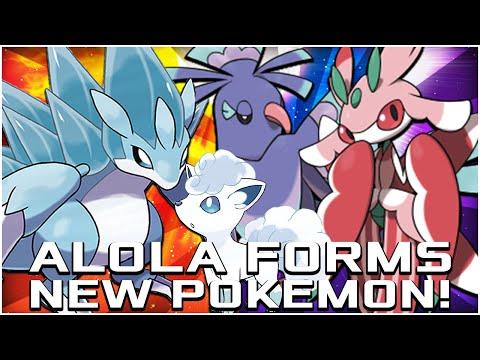 NEW ALOLA (DELTA) FORMS AND NEW POKEMON REVEALED! | Pokemon Sun and Moon News!
