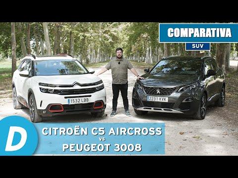 Comparativa SUV: Citroën C5 Aircross vs Peugeot 3008 | Review en español | Diariomotor