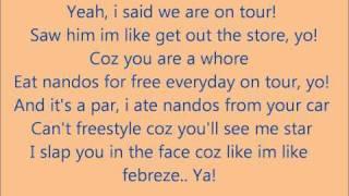 Cover images Ed Sheeran & Example - Nandos Skank Lyrics