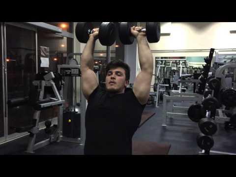 Shoulder dumbell press Nasıl yapılır?