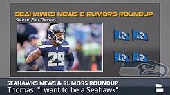Seahawks Rumors & News Featuring Earl Thomas Trade, Colin Kaepernick To Seattle, And Trevone Boykin