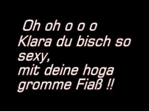 Pomm Fritz-Klara  Mit Tekscht!
