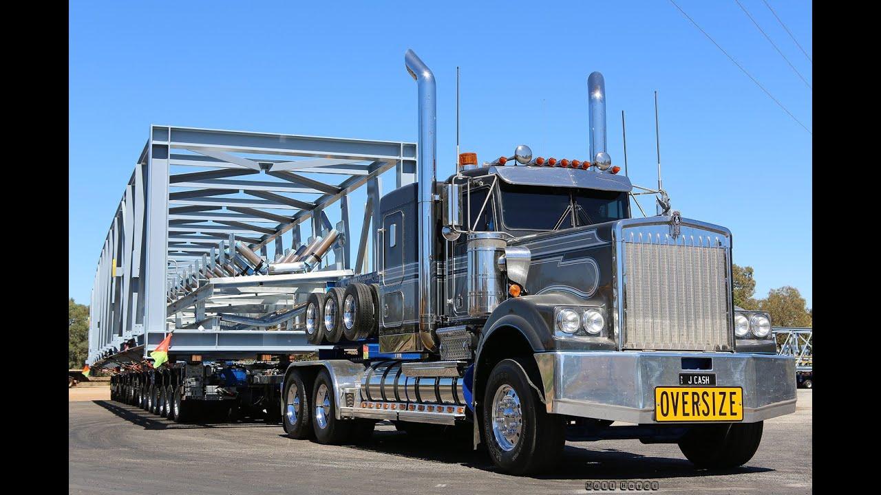 Heavy Haulage Australia Mega Truckers - YouTube