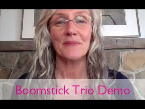 Boomstick Trio Demo Boom! by Cindy Joseph