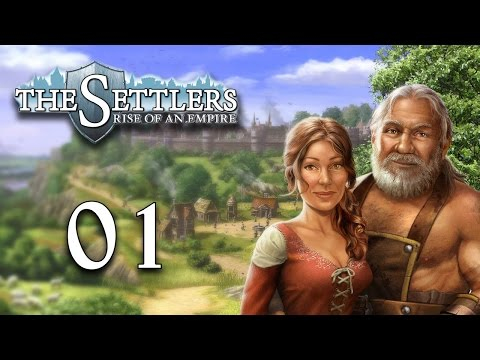 Let's Play The Settlers 6: Rise of an Empire - 1 [ Tutorial / Vestholm ]