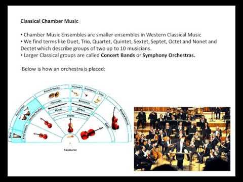 Week 19  Music Ensembles