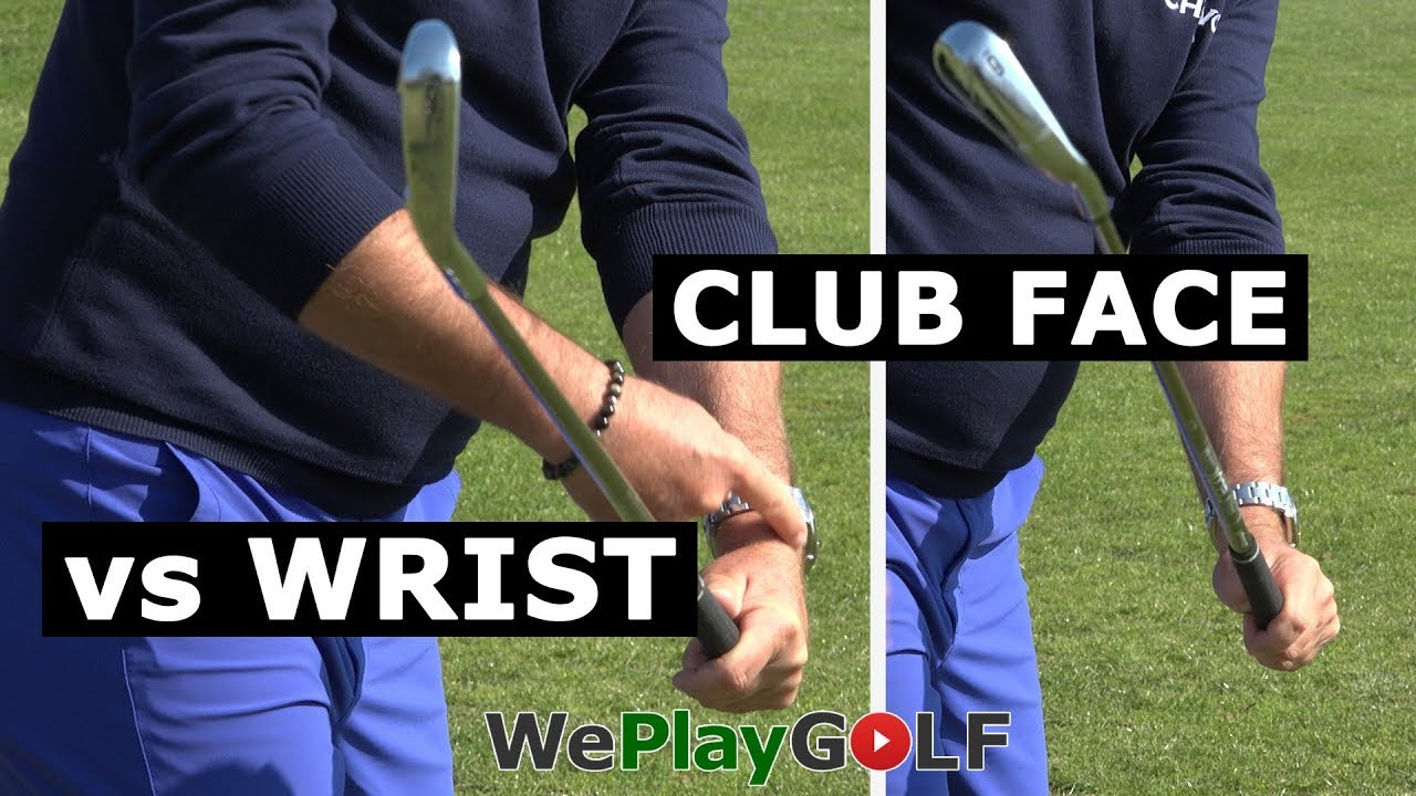 Golf instruction: Perfect wrist action for a square club face in your golf  swing