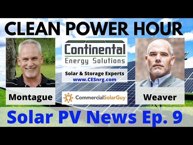 Clean Power Hour Ep. 9 | Will Humans Talk to Their Solar Arrays?