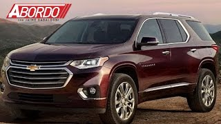 Presentan a la remodelada familiar americana en Detroit: La Chevrolet Traverse 2018