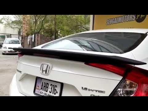 Honda Civic SI Spoiler American Style - Model 2016-2019
