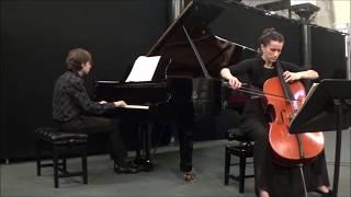 Edvard Grieg: Cello Sonata in A Minor Op. 36