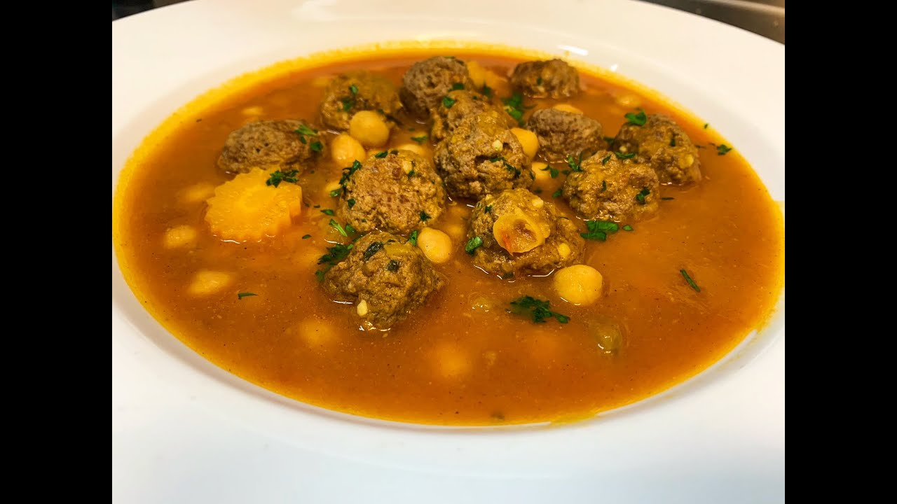 How To Make Middle Eastern Meatball Soup