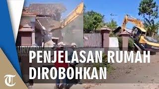Viral Suami Robohkan Rumah dengan Bulldozer karena Istri Selingkuh Begini Tanggapan Polisi