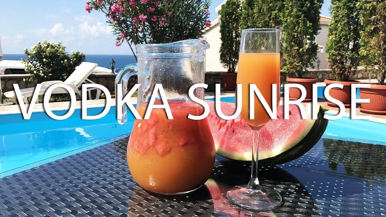 Berry Vodka Sunrise