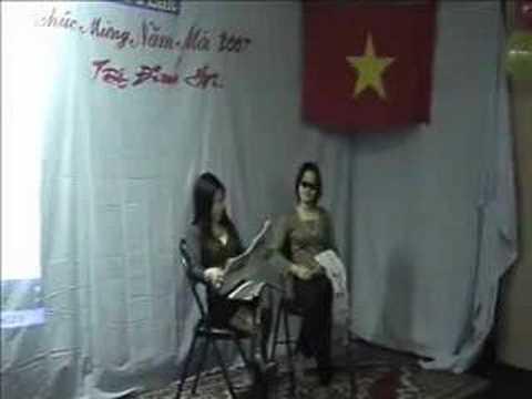 Kịch Tấm Cám thời nay - phan B  - Tết Đinh hợi SVLille