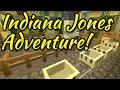 Minecraft Disneyland - Indiana Jones Adventure