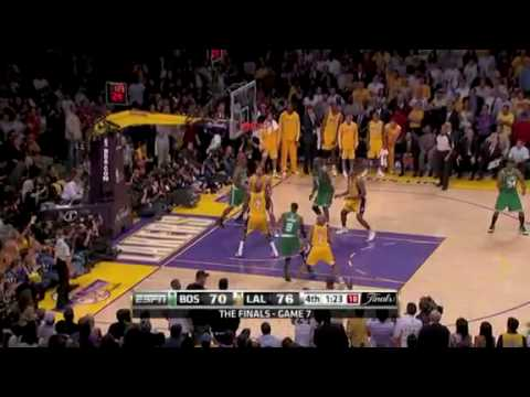 NBA Finals Game 7- 2009-2010- Lakers vs. Celtics- EPIC GAME- Extended Version - YouTube