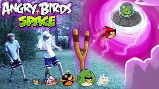 Real Life Angry Birds Space