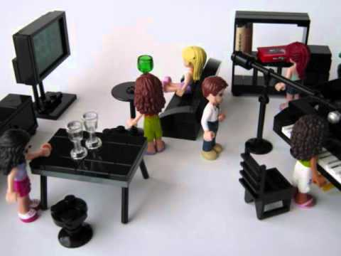 Lego Furniture With Lego Friends Youtube