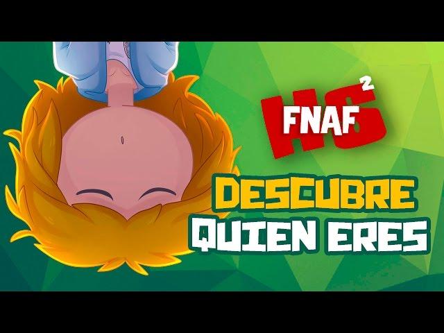 DESCUBRE QUIEN ERES #2 | SERIE ANIMADA | #FNAFHS 2