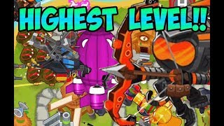 Bloons TD 6 - BIGGEST BLOON OF ALL TIME + HIGHEST RANK HERO!
