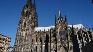 Кёльнский собор (Kölner Dom)(Кафедральный Собор Святых Петра и Марии в Кёльне Сайт: http://eurokrol.ru/ Канал на YouTube: http://www.youtube.com/channel/UCtjPHMrdlermJbm-vW ..., 2015-09-15T19:30:54.000Z)