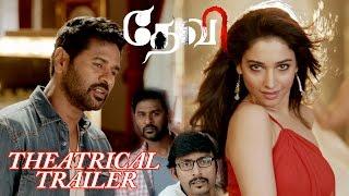 Devi(L) - Tamil Theatrical Trailer   Prabhudeva   Tamannaah   Sonu Sood   Vijay
