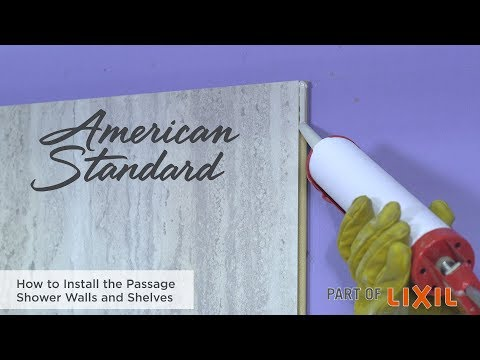 How To Install The Passage Shower Walls And Shelves