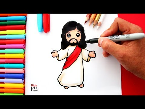 Aprende A Dibujar A Jesus De Nazaret De Manera Facil How To Draw