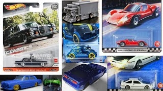 The First 2021 Super TH! Hot Wheels M Case 2020! New Premium! Boulevard Mix D & Modern Classics!