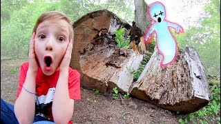 FATHER SON ADVENTURE TIME! / Haunted Tree!
