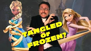 Tangled vs Frozen - Nostalgia Critic